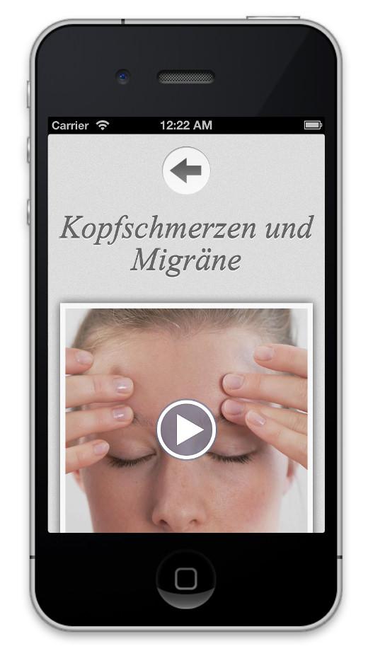 App Schmerzfrei mit Akupunktur
